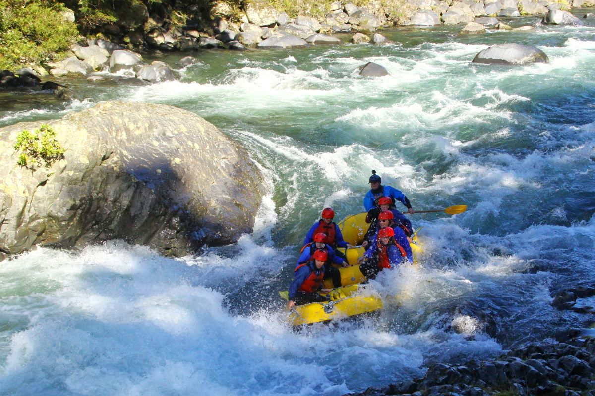 7 Places to Go White Water Rafting in New Zealand