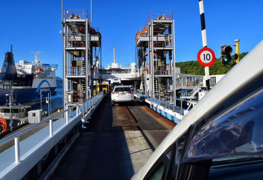 The Ferry Between the North Island and South Island