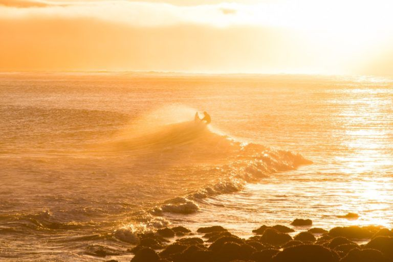 9 Places to Surf on the North Island