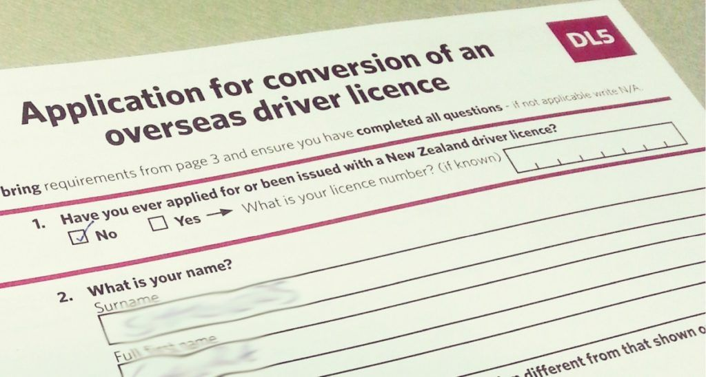Converting Your Driver License into a New Zealand Driver License