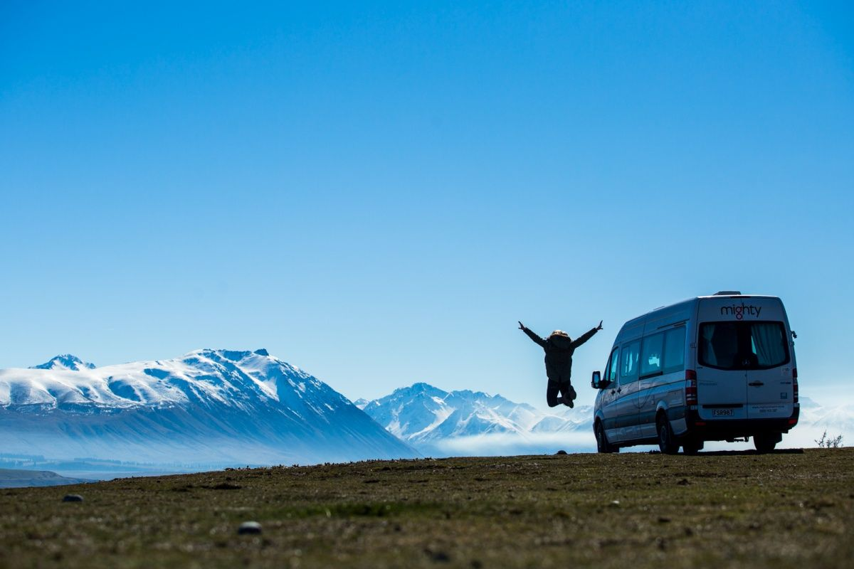 Self-contained Campervans in New Zealand