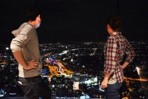 Sky Tower Ascension by Night, Campervan Confusion by Day