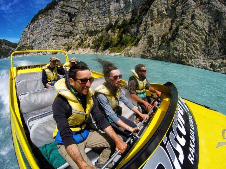 Rakaia Gorge Jet Boat & Walkway - Day 211