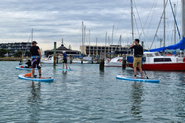 Stand-Up Paddle Boarding in Napier - Day 260, Part 1