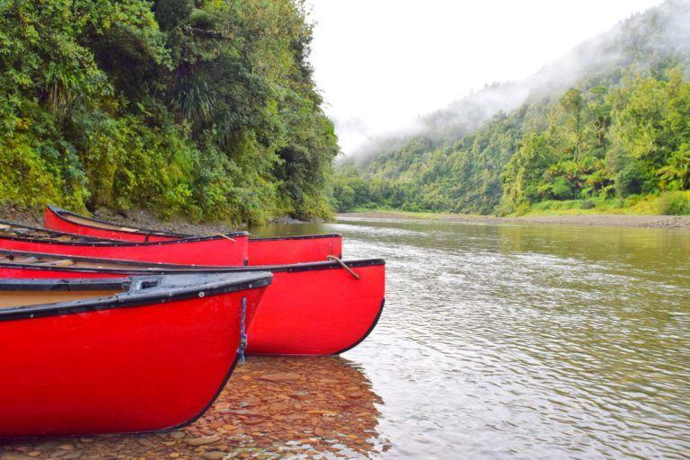 Canoe Trip in the Bay of Plenty - Day 280