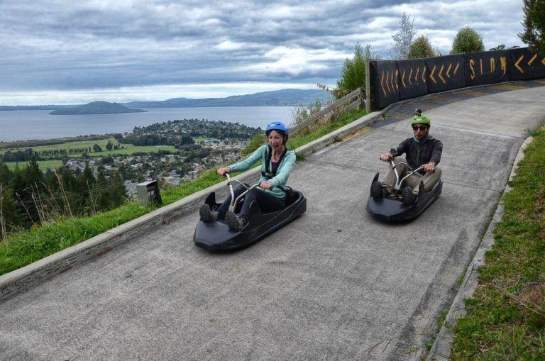 Skyline Rotorua Luge & Zipline - Day 293