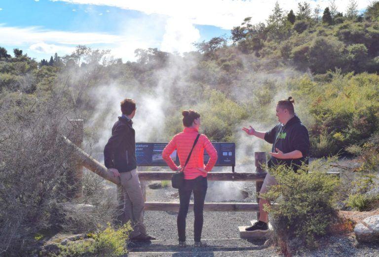 Te Puia Geothermal Park & Maori Show in Rotorua - Day 295