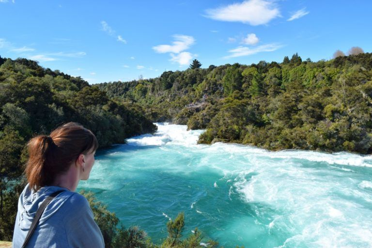 Aratiatia Rapids in Taupo - Day 305, Part 1