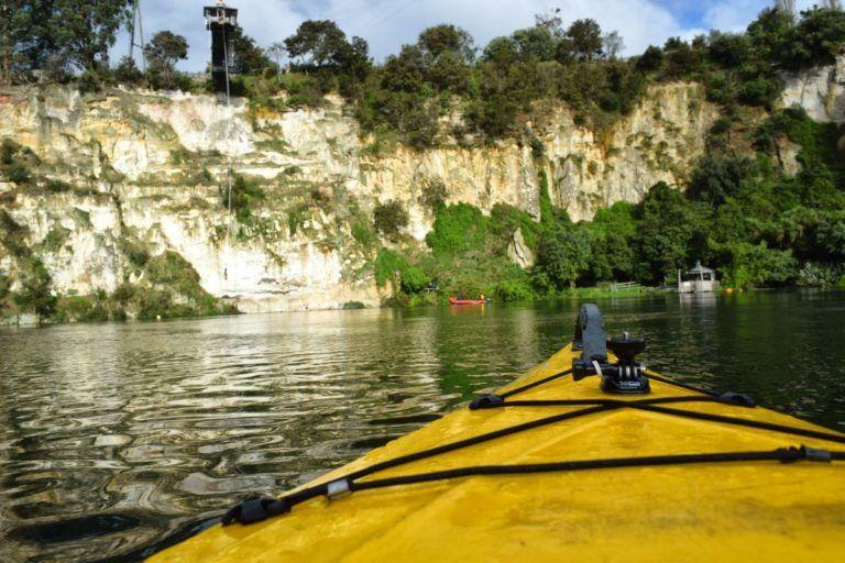 Kayaking in Taupo to Geothermal Hot Pools - Day 299
