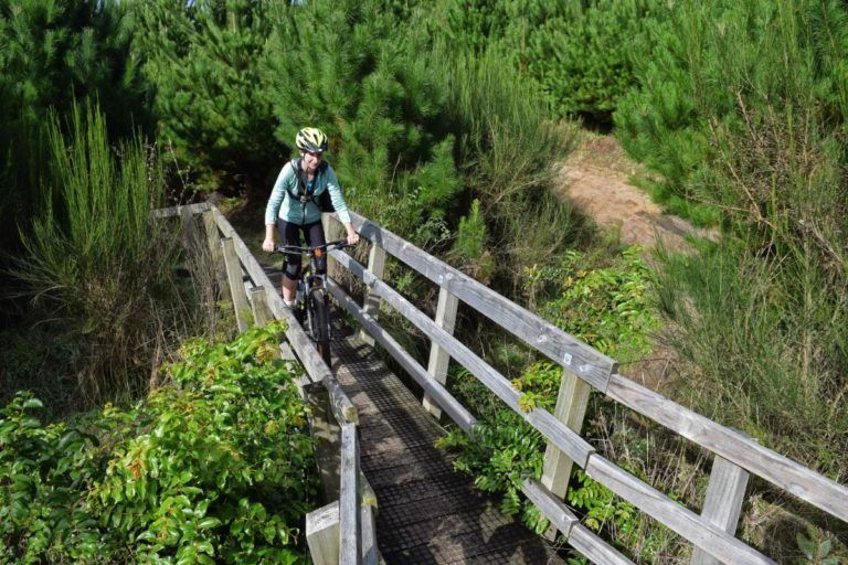 Mountain Biking in Taupo at the Craters MTB Park - Day 302