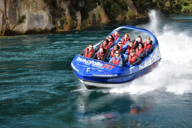 Jet Boating to Huka Falls in Taupo - Day 298, Part 1