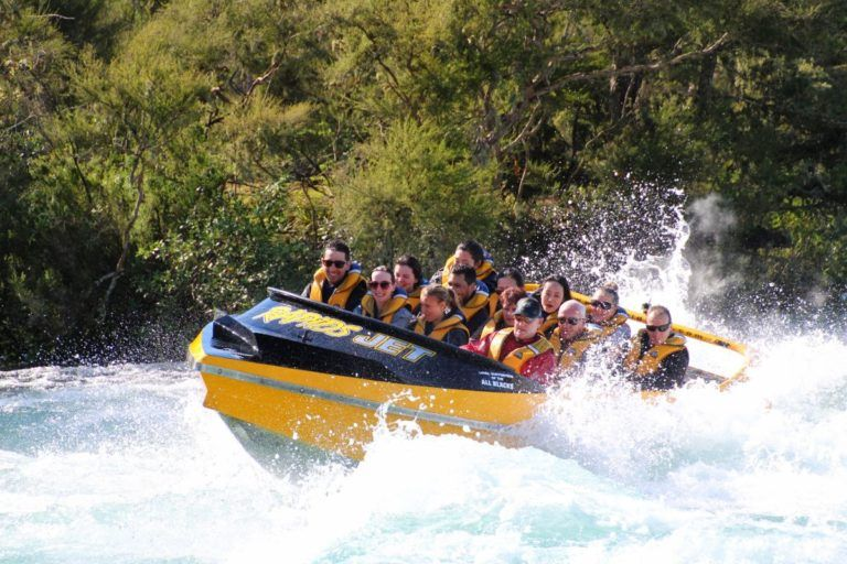 White Water Jet Boating in Taupo - Day 305, Part 2