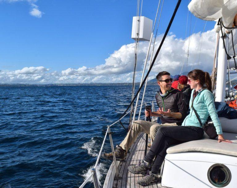 Sailing on Lake Taupo - Day 297