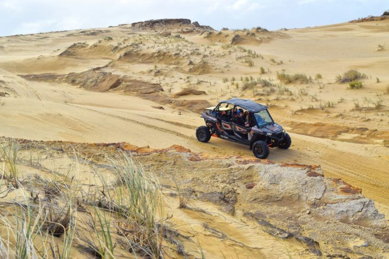 Off-Roading and Sandboarding in Ahipara - Day 357