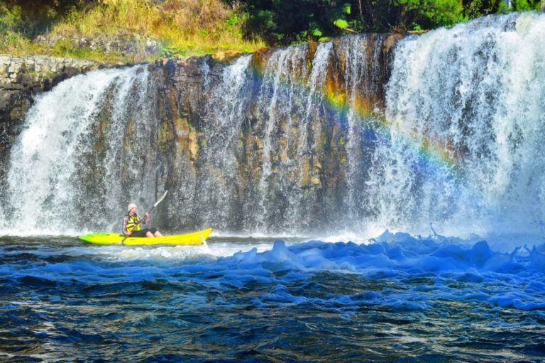 Waterfall Kayaking in the Bay of Islands - Day 352