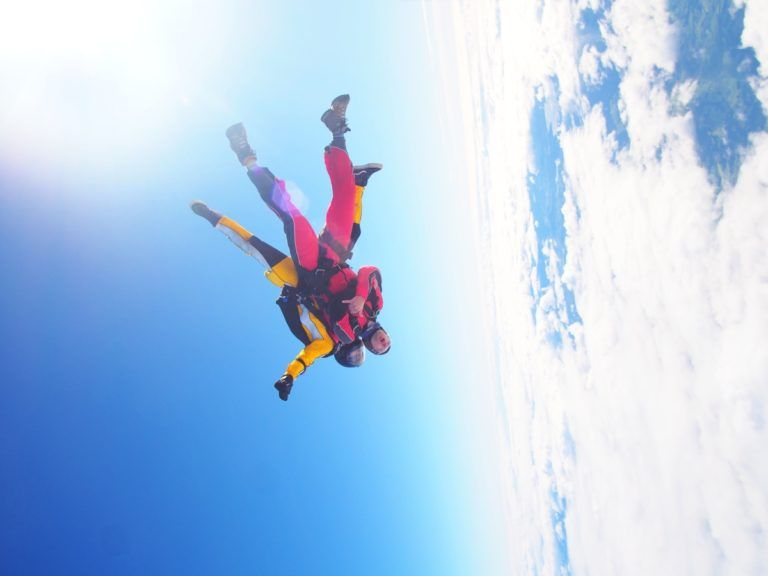 Skydiving in the Bay of Islands - Day 353