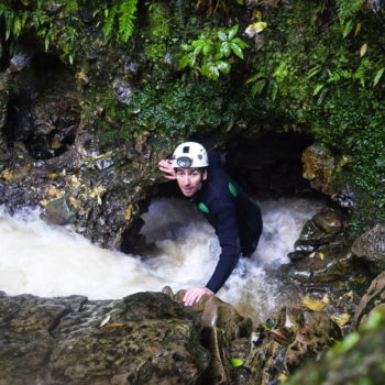 Delving into the Black Abyss: A Waitomo Caving Adventure