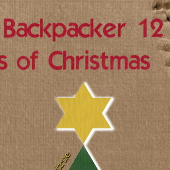The Backpacker 12 Days of Christmas