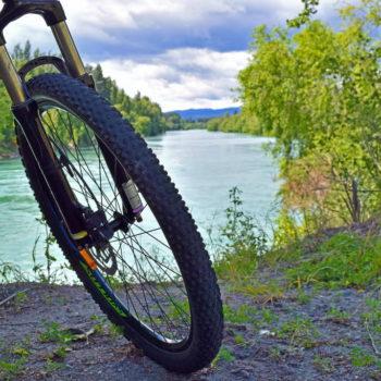 Biking the Clyde to Alexandra River Trail
