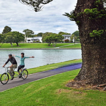Exploring Gisborne by Tandem Bike