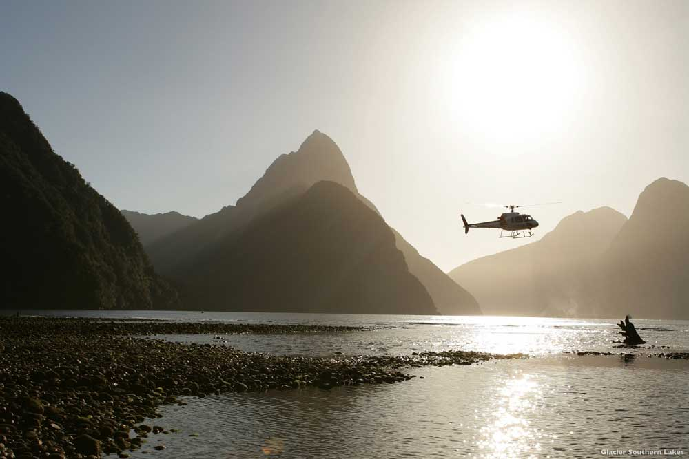 Glacier Southern Lakes Helicopters - Tourism NZ