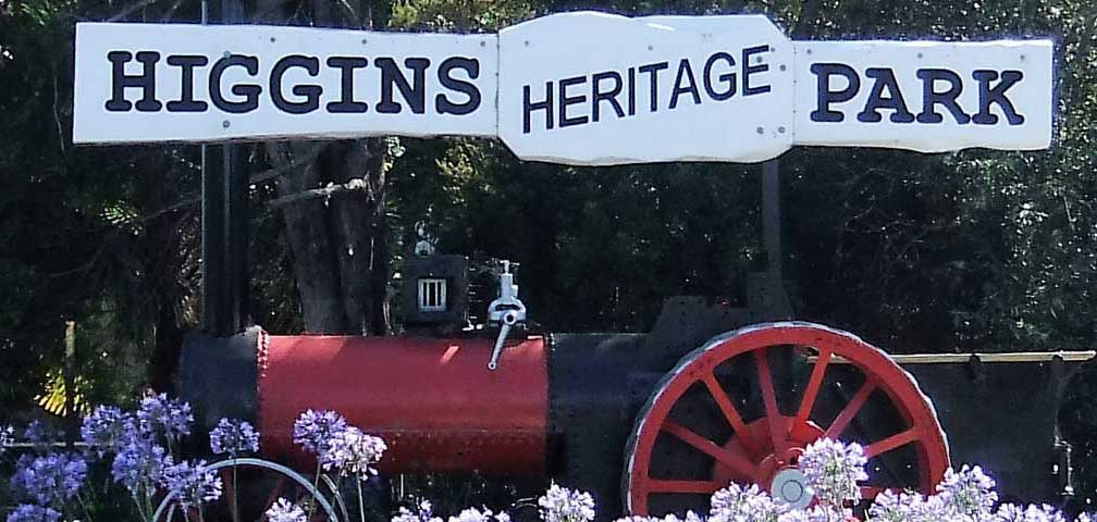 Higgins Heritage Park & Steam Museum
