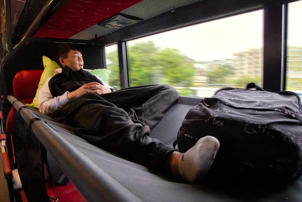 Sleeper bus for NZ