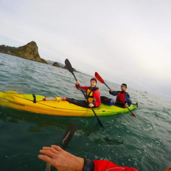 Kayaking Taranaki Style: Exploring Sugar Loaf Islands
