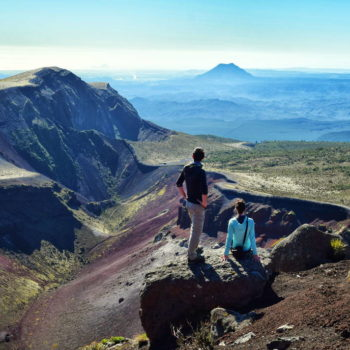 A Hike Into the Volcanic Crater of Mt Tarawera