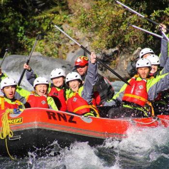 Grade 3 White Water Rafting on the Tongariro River
