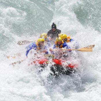 White Water Rafting on the Rangitata River