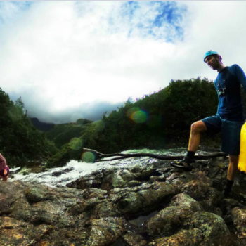 A Taste of Canyoning in the Coromandel