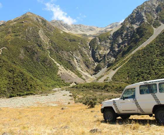 Tasman Valley 4WD Tours