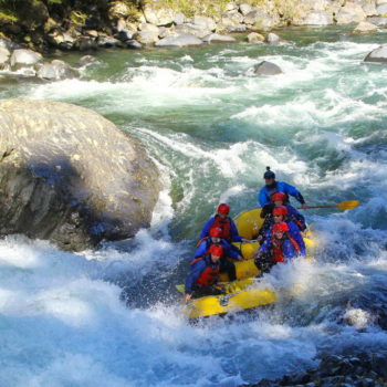A Duelathlon of Adventure: Tongariro River Rafting & Mountain Biking