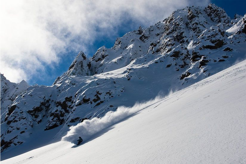 Temple Basin Ski Area