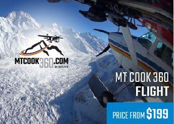 Inflight - Mt Cook 360