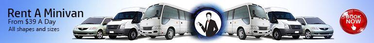 Minivan Rental 3